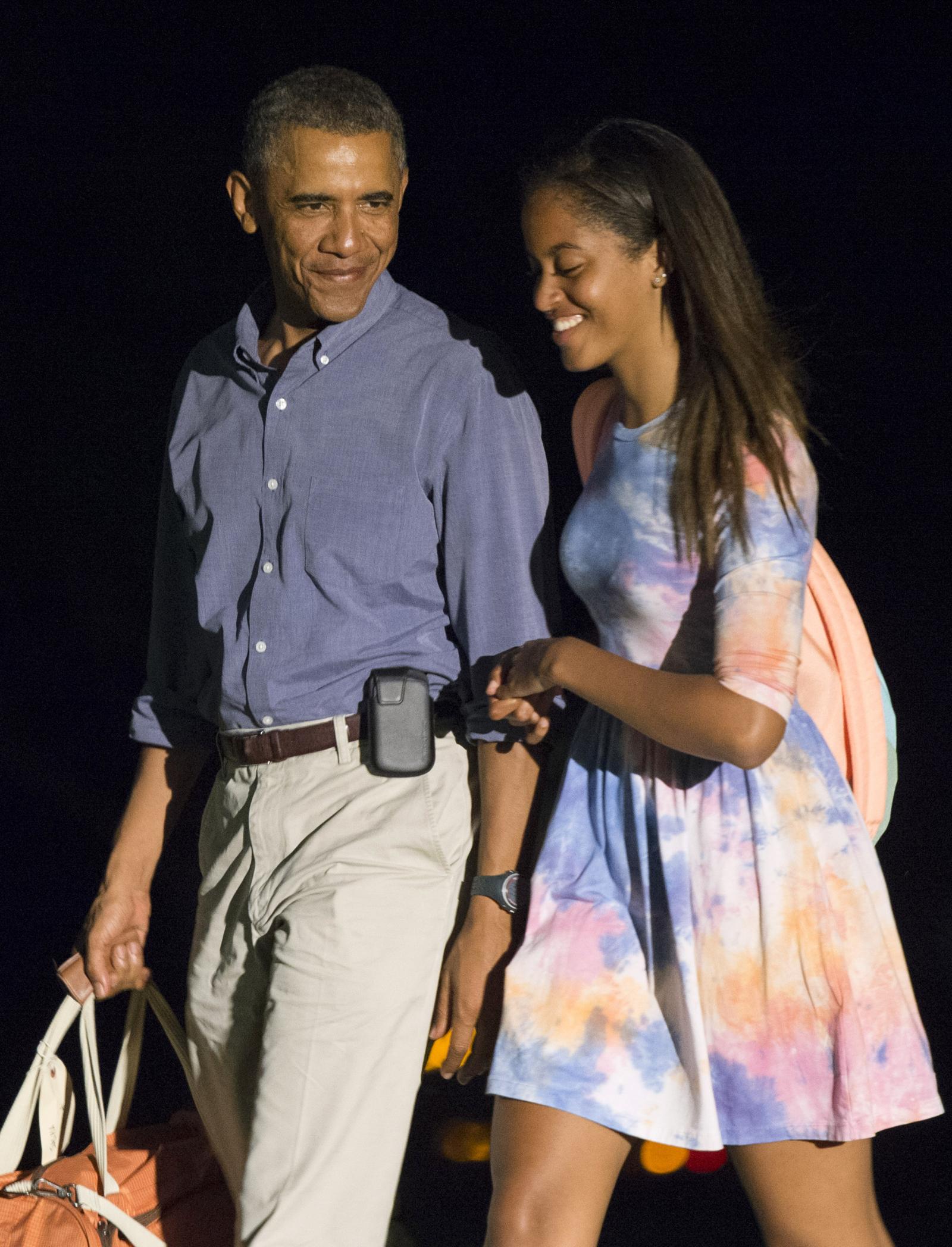 Is malia obama dating