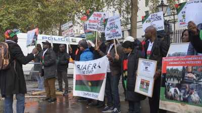 Biafra protesters tell Nigeria: You can have our oil, all we want is freedom