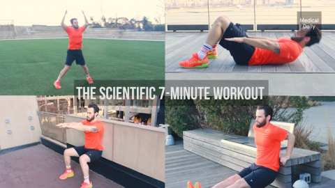 Why The 7-Minute Workout Works: High-Intensity Circuit Training